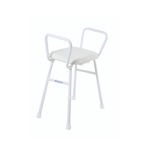 Aspire Shower Chair Stool with Arms Padded Seat