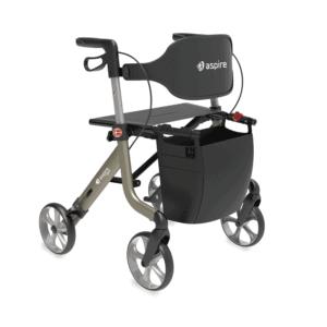 Aspire Lightweight 2 Seat Walker Features