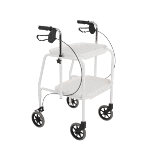 Days Meal Tray Walker Trolley White (1)