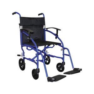 Days Swift Lite Wheelchair - Attendant Propelled - Blue
