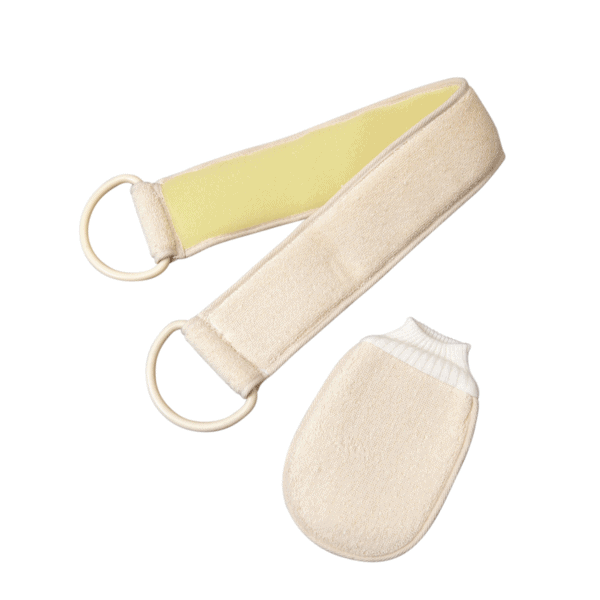 Double Sided Flannel Strap with Hand Mitt