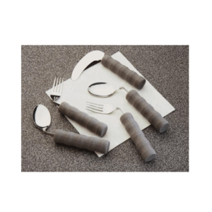 Homecraft's Lightweight Foam Handle Angled Cutlery