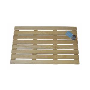 Immerse Rubberwood Bath Mat - Floor Mat