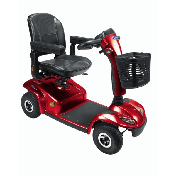 Invacare Leo Mobility Scooter Gopher Red Blue