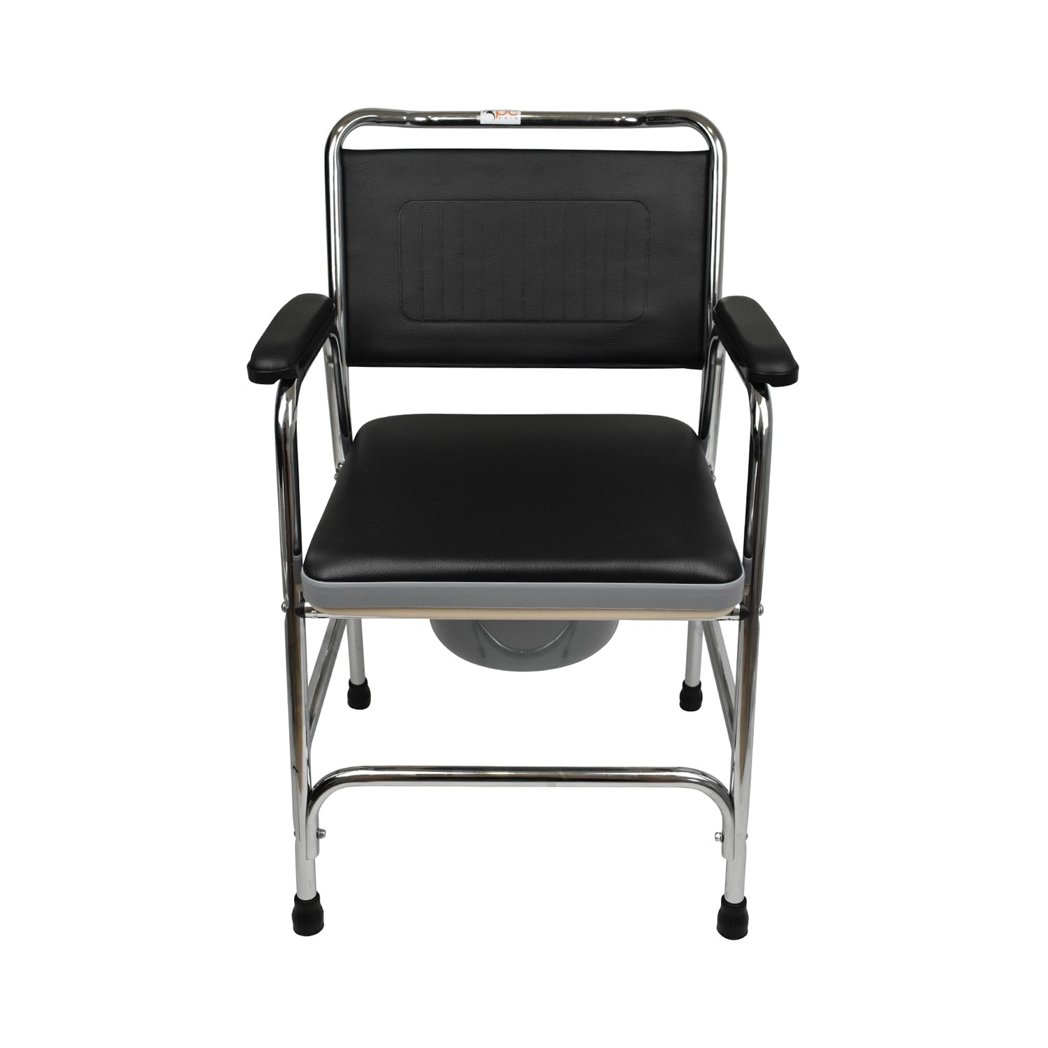 PE Care BedSide Commode Chair Front