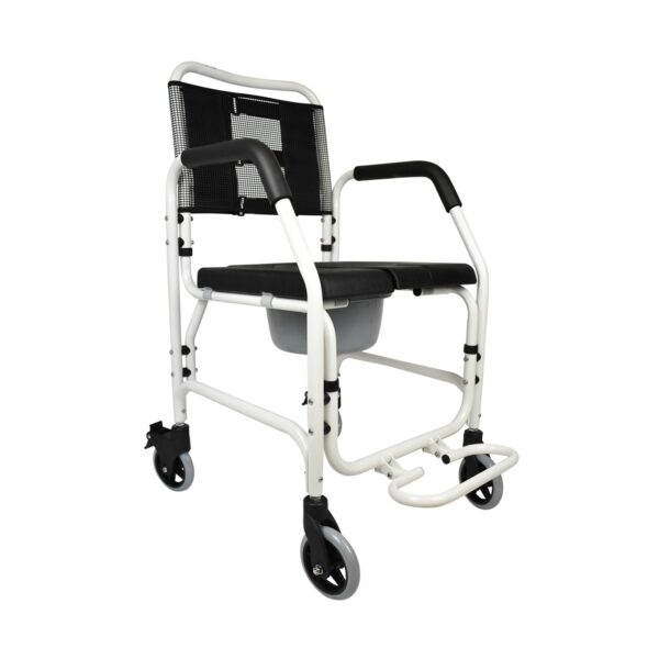 PE Care Shower Commode Chair Front