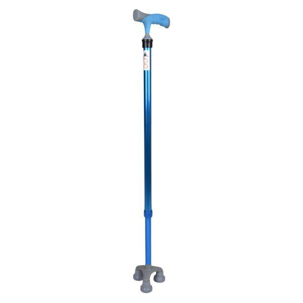 PE Care Tri Cane Blue