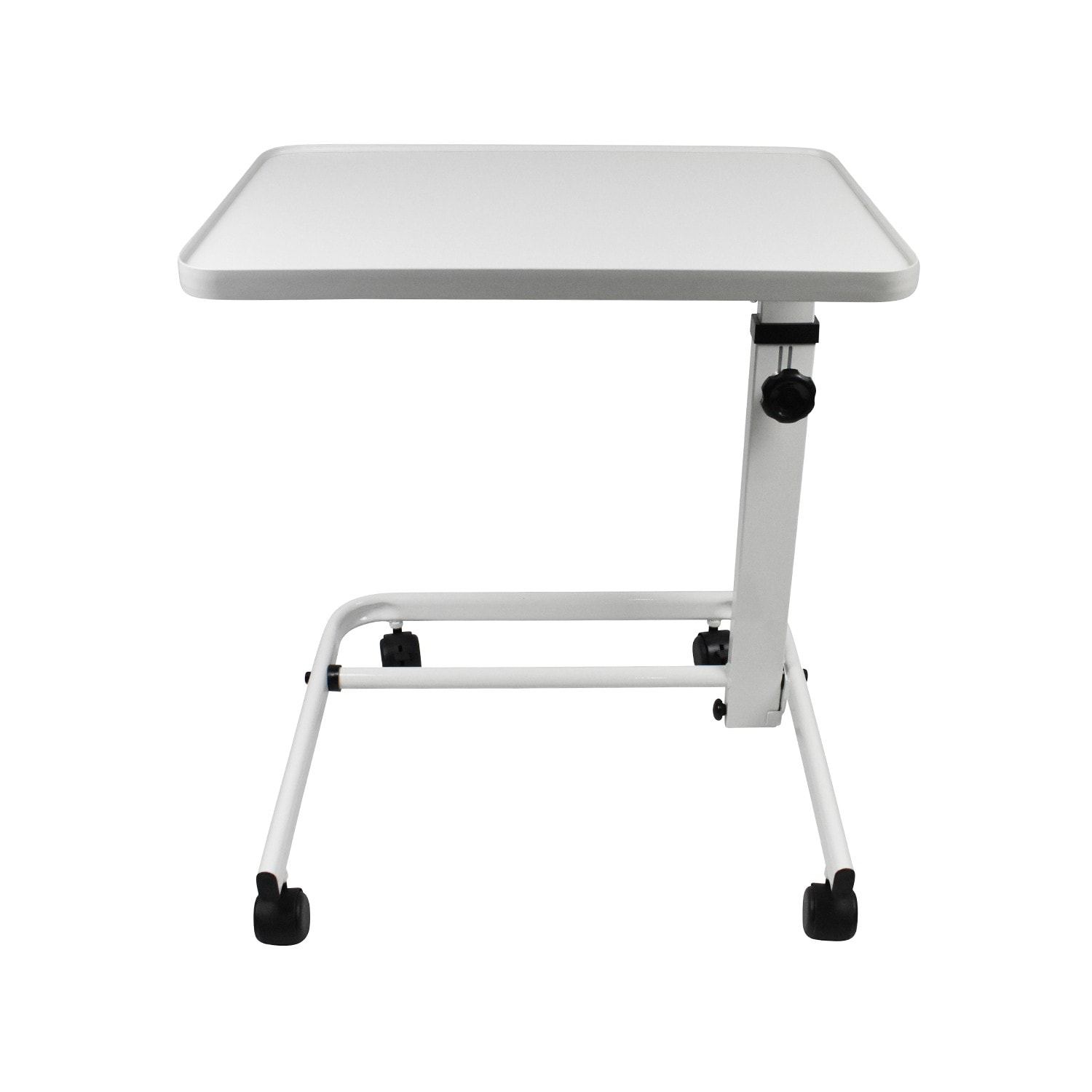 Comfort White Easy Action Overbed Table