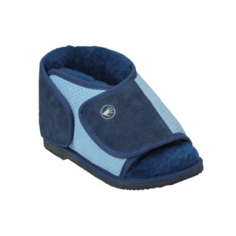 Shear Comfort Pressure Care Boot Blue