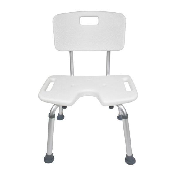 Shower Chair With Cut Out Bottom View