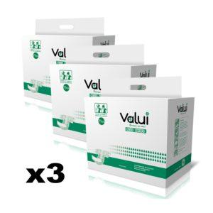 Valui Plus Briefs Adult Nappies 3 Pack