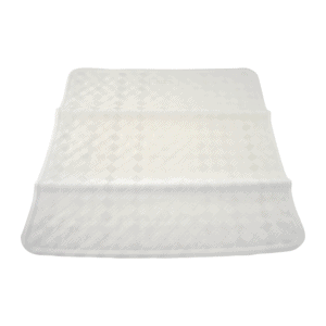 White Square Shower Mat - Product Image