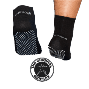 GripSox Non Slip Safety Socks – Stretch Top - Product Image