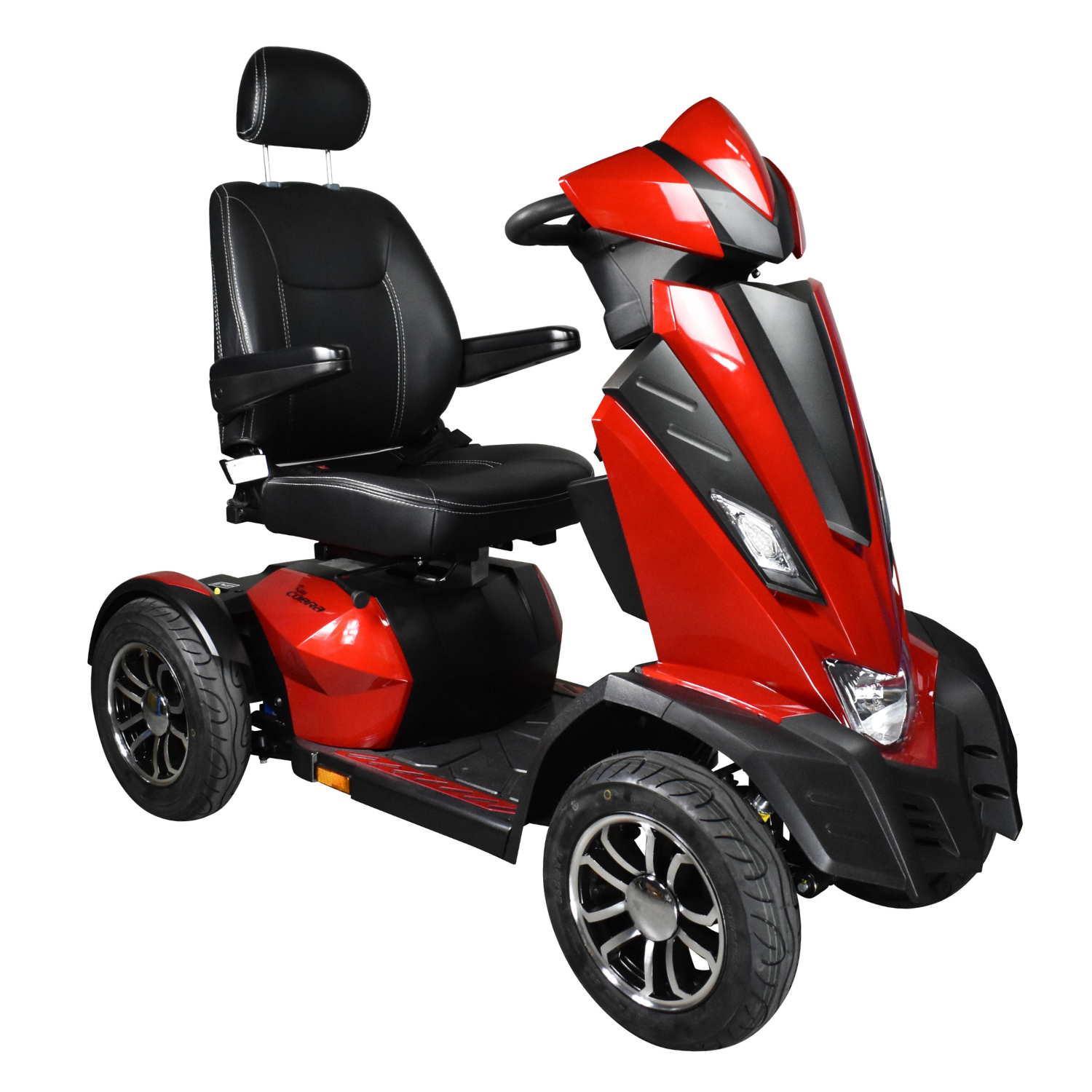 Drive King Cobra Mobility Scooter Red