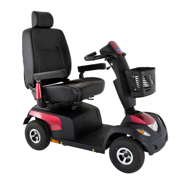 Invacare Comet Ultra Mobility Scooter Red