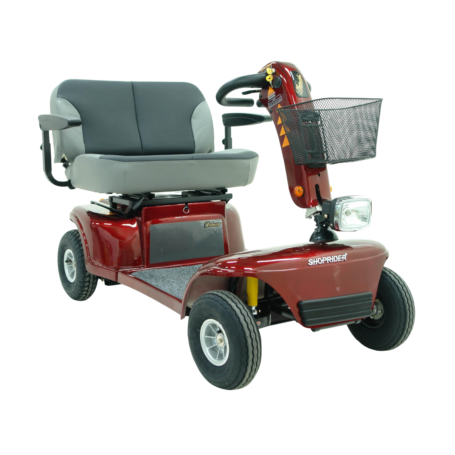Shoprider 889D Mobility Scooter – Red Bariatric Scooter