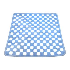 Square Shower Mat - Blue