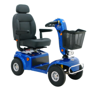 Shoprider Allrounder Mobility Scooter Blue